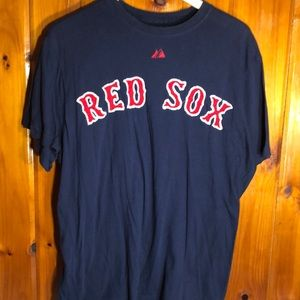 Red Sox Papelbon Large Short Sleeve